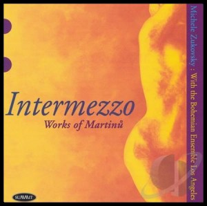 Intermezzo Works of Martinu